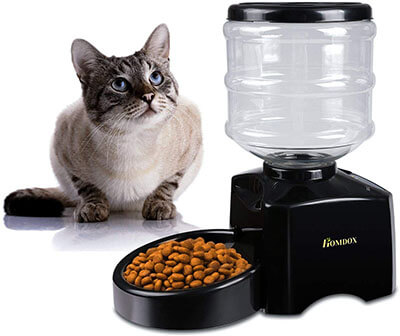 Homdox Automatic Cat Feeder