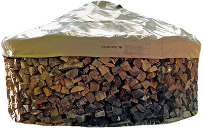Cordwood Covers Log Cover-with Integrated Hold Down Covers