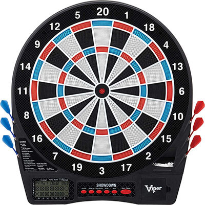 Viper Showdown Electronic Dartboard by GLD Products