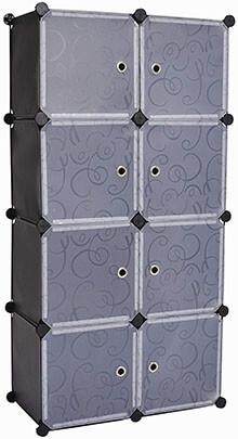 C&AHOME 8 Cube Storage Organizer DIY wardrobe Closet