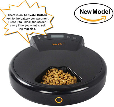 JEMPET Automatic Pet Feeder