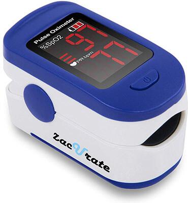 Zaccurate 500BL Finger Pulse Oximeter