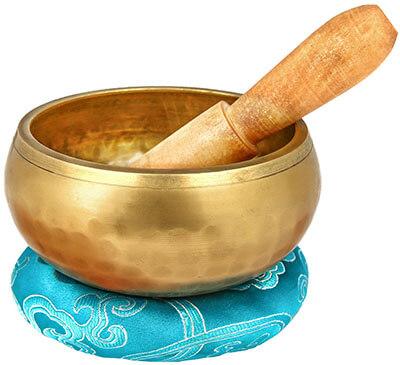 Reehut Tibetan Meditation Yoga Singing Bowl Set