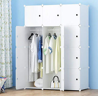 Joiscope MEGAFUTURE Portable Wardrobe Closet