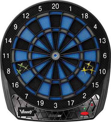 Viper Vtooth 1000 Ex- Electronic Dartboard, App-Based Scoring