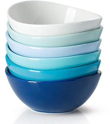 Sweese Porcelain Bowls for Cereals, Dessert and Salad