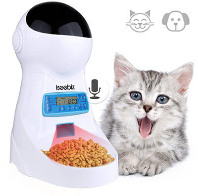 Iseebiz Automatic Cat Feeder