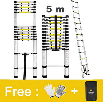 Finether Multi-purpose Telescoping Ladder