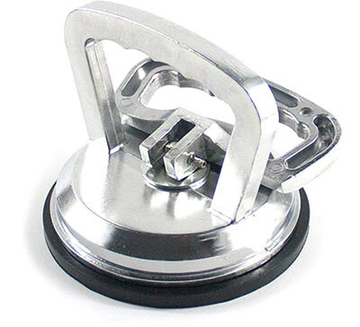 ZUOS Vacuum Suction Cup Glass Lifter, Aluminum Alloy
