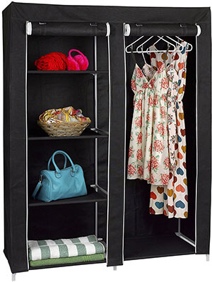 FloridaBrands Portable Wardrobe Closet