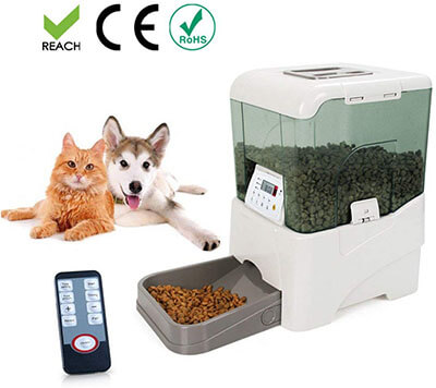Bartonisen Automatic Pet Feeder Food Dispenser