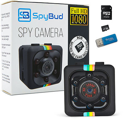 Spy Bud HD Mini Spy Camera