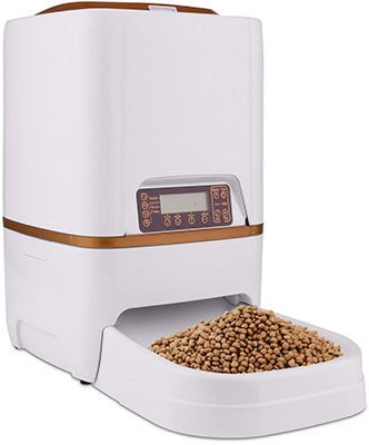 Homdox Automatic Pet Feeder