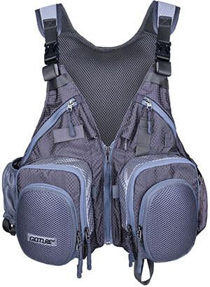 Mr. Fish Adjustable Fishing Angler Vest