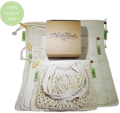 True Natured Reusable Produce Bags