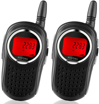 STOTOY Kids 22-Channel FRS VOX- Walkie Talkies