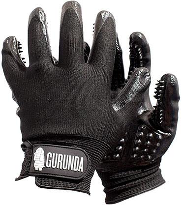 Gurunda Goods Deshedding Glove Brush & Pet Hair Remover
