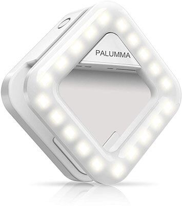 Palumma LED Clip-On Portable Selfie Ring