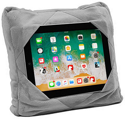 Alayna GoGo Multi-functional 3 in 1 Cushion Travel Pillow for Ipad Tablet Holder