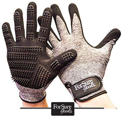 ForSure Goods Newest Design Dogs $ Cats Pet Grooming Glove