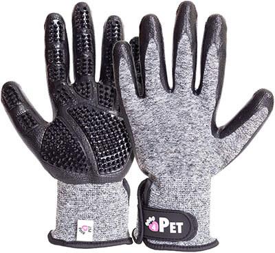 Love4PET Premium Grooming Glove for Pets