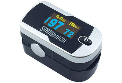 Top 10 Best Finger Pulse Oximeters in 2019 Reviews