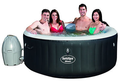 Top 10 Best Inflatable Hot Tubs in 2019