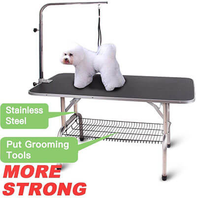 Polar Aurora Pingkay Pet Professional Dog Foldable Grooming Table