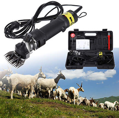 Ridgeyard Electric Animal Grooming Shearing Clipper for Sheep and Goat
