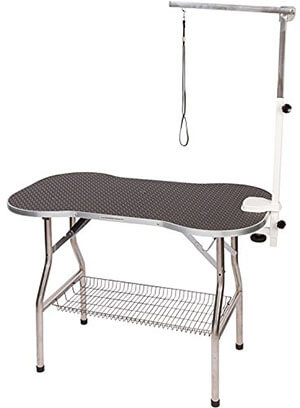 Flying Pig Heavy Duty Stainless Steel Pet Grooming Table