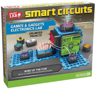 SmartLab Toys Electronics Lab Smart Circuits Games & Gadgets