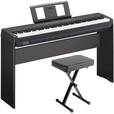 Yamaha P71 Digital Piano Deluxe Bundle
