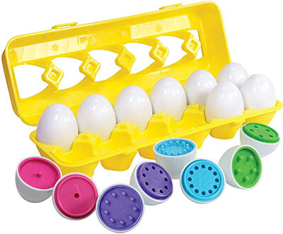 Kidzlane Color-Matching Eggs Set Toys