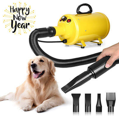 amzdeal 3.8HP Pet Professional Dog Grooming Hair Dryer