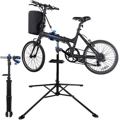 ZENY Adjustable Mechanic Bicycle Repair Stand Maintenance Rack