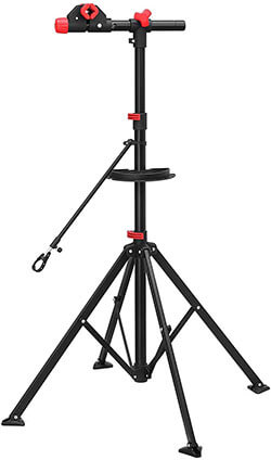 SONGMICS Pro Bike Repair Stand, Telescopic Bicycle Maintenance Rack