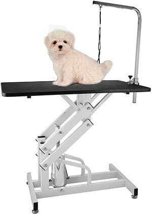 Happybuy Hydraulic Grooming Table for dog
