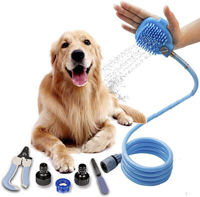 Tommypet Pet Shower Sprayer Pet Bathing sprayer