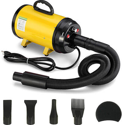 ITORI 3.2 Hp Pet Grooming Hair Dryer with 4 Different Nozzles