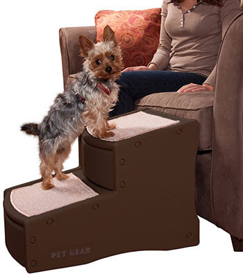 Pet Gear Easy Step II Pet Stairs 2 Step up to 150 Pounds