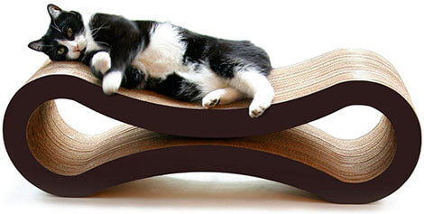 PetFusion Ultimate Cat Scratcher Lounge with Superior Cardboard and Design