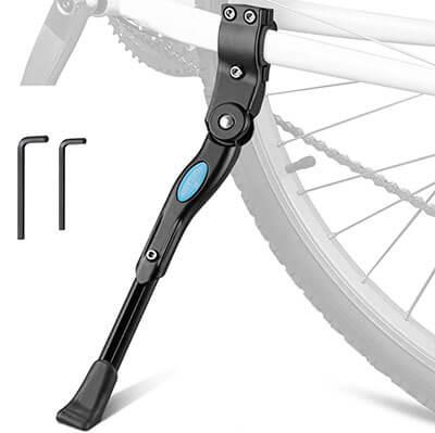 TOPCABIN Bike Kickstand Adjustable Aluminum Alloy