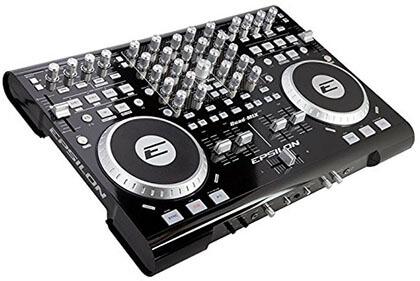 Epsilon Quad-Mix Powerful 4-Deck Pro MIDI/USB DJ Controller