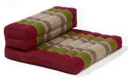 myZENhome Organic Kapok Filled Dhyana Meditation Pillow