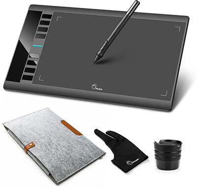 """Parblo A610 10"""" x 6"""" Graphic Drawing Pen Tablet"""