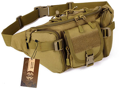 DYJ Tactical Military Waist Pack Portable Fanny Pack