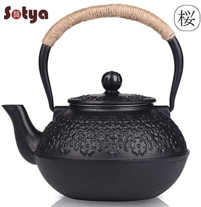 Cast Iron Teapot, Sotya Tetsubin Japanese Tea Kettle