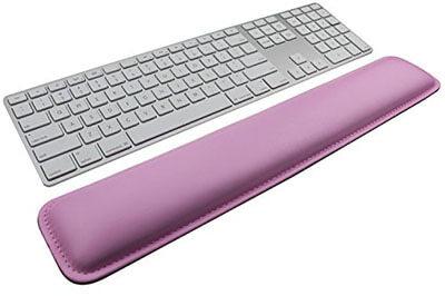 SuoSuo PU Leather Palm Support Keyboard Wrist Rest Pad
