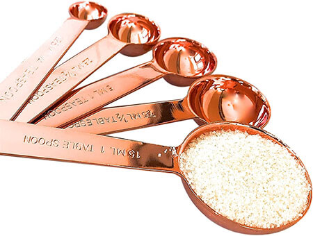 CopperCrate Copper Measuring Spoons