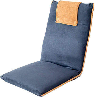 bonVIVO Easy II Padded Floor Chair- with Adjustable Backrest